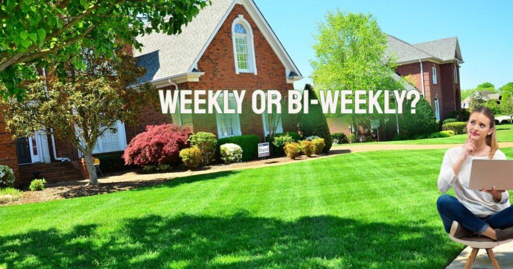 lawnmowerman- weekly or bi-weekly mowing services ottawa