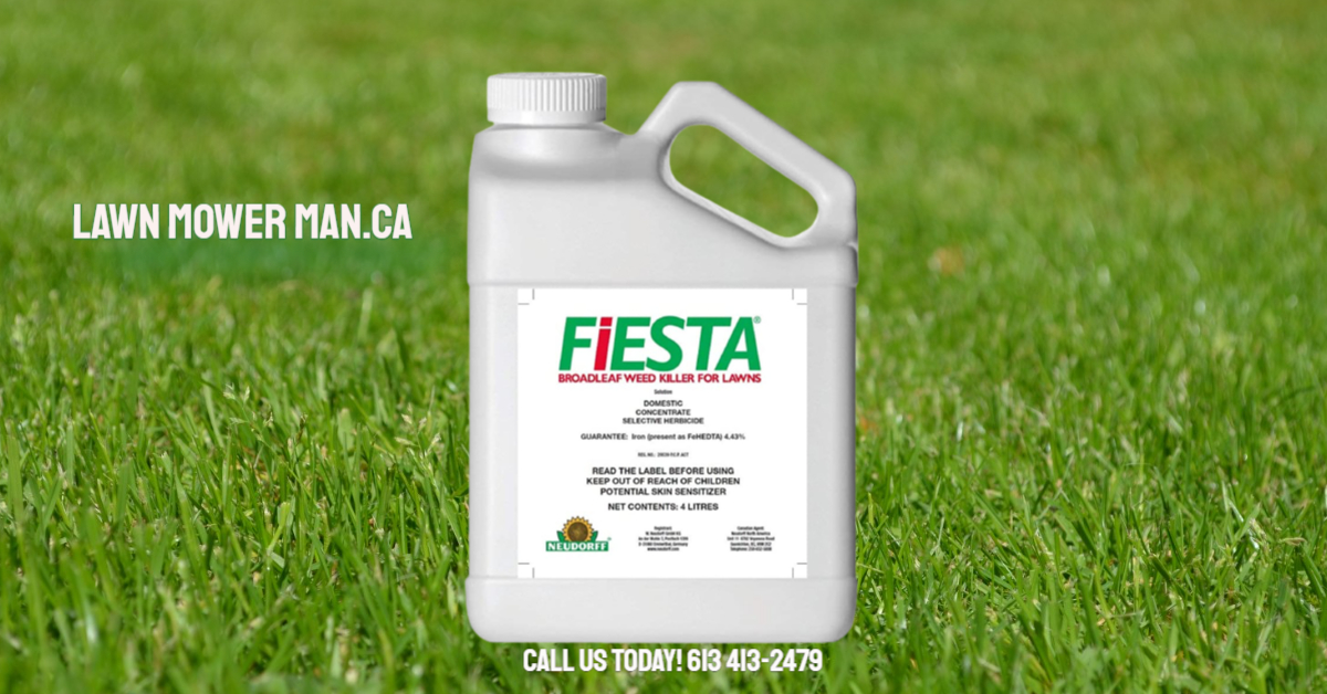 About Fiesta broadleaf weed killer for lawns