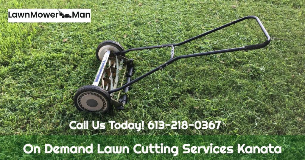 On Demand Lawn Cutting Services Kanata